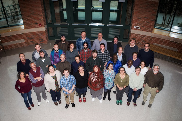 Biology Department group photo