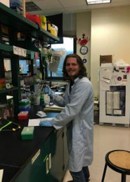 Richard Sobe in the lab